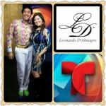 Leonardo D'ALmagro Telemundo Moda MSN Glo