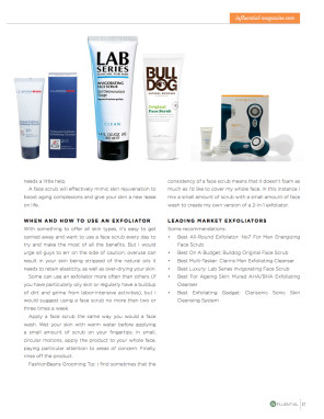 Leonardo D'Almagro Influential Magazine Lab Series man