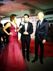 Leonardo D'ALmagro #lifeasleo Univision Premios Texas Lucy Dang
