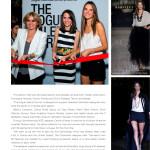 Influential magazine colombiamoda inexmoda fashion cover moda #lifeasleo Alessandra Ambrossio camara lucida