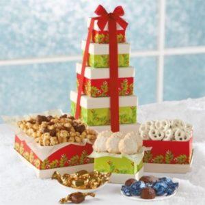 Holiday Tower of Sweet Treats - Leonardo D'Almagro