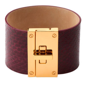 jaeger-leather-cuff-Leonardo D'Almagro