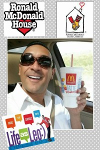 Ronald McDonald's - Leonardo D'ALmagro Lifeasleo