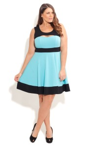 Leonardo-D'Almagro-#LifeAsLeo-Oxigen-Plus-size-Univision-Women-fashion-trends-Enews-ALine-dress-3