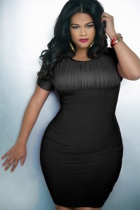 Leonardo-D'Almagro-#LifeAsLeo-Oxigen-Plus-size-Univision-Women-fashion-trends-Enews-bodycon-dress-1