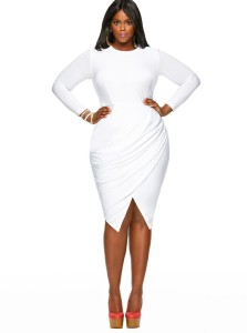 Leonardo-D'Almagro-#LifeAsLeo-Oxigen-Plus-size-Univision-Women-fashion-trends-Enews-dress-2